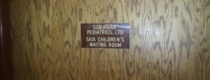 North Suburban Pediatrics is one of Erik'in Beğendiği Mekanlar.