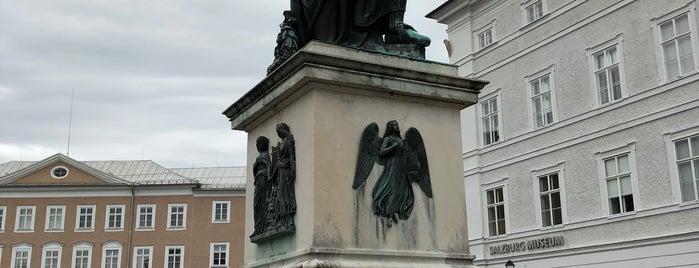 Mozartstatue is one of Around The World: Europe 4.