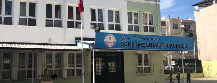Öğretmen Davut İlköğretim Okulu is one of Oğuz Kağan'ın Beğendiği Mekanlar.