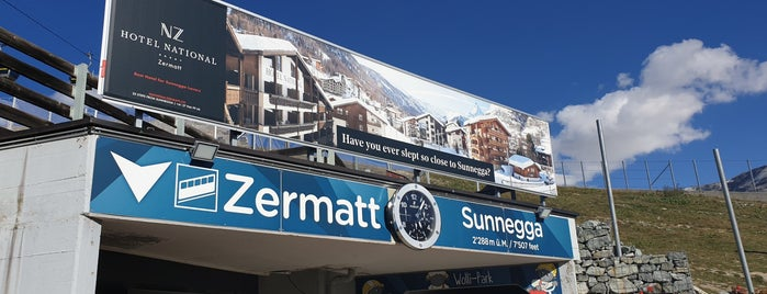 Sunnega is one of Zermatt, Switzerland.