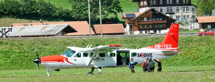 Scenic Air Skydive Switzerland is one of Mohammadさんのお気に入りスポット.
