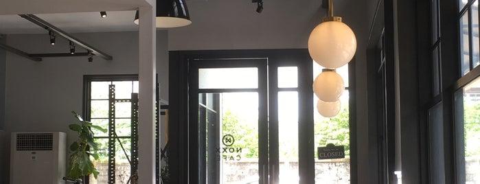 Noxx Café is one of Tempat yang Disukai Chayaporn.