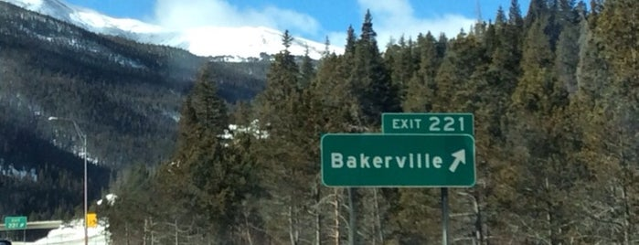 Town of Bakerville is one of I-70.