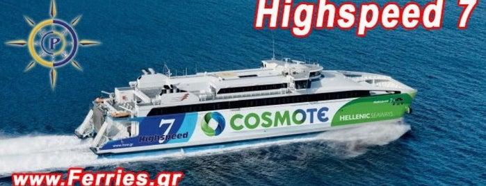 FlyingCat 4: From Heraklio to Thira (Santorini) is one of Tempat yang Disukai Irina.