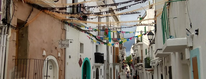 Old Town is one of Ibiza to doby Jas.