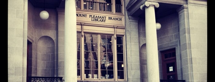 DC Public Library - Mt. Pleasant is one of Most Pleasant, Mt. Pleasant.