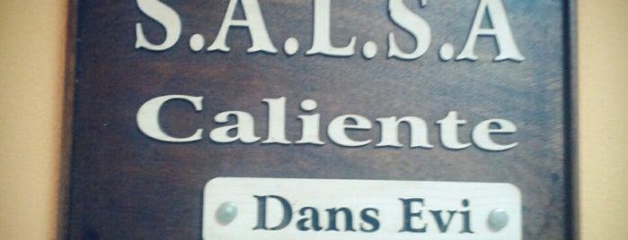Caliente Dans Evi is one of สถานที่ที่ Suheyla ถูกใจ.