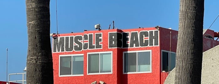 Muscle Beach is one of Los Angeles!.