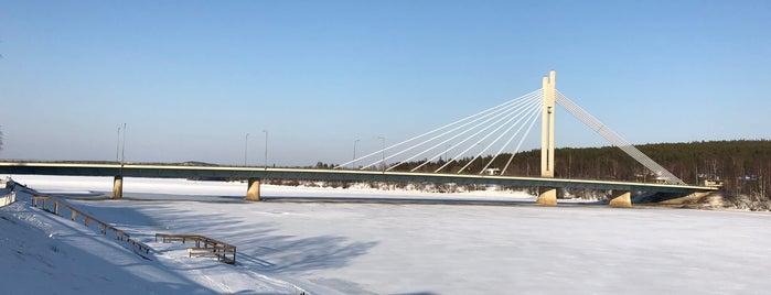 View Rovaniemi bridge is one of Locais curtidos por Julia.