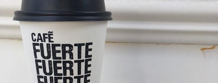 Café Fuerte is one of Un: сохраненные места.