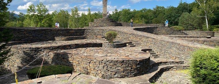 Opus 40 is one of NYC-Toronto Road Trip.