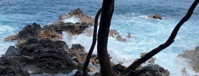Kehena Black Sand Beach is one of HAWAII.