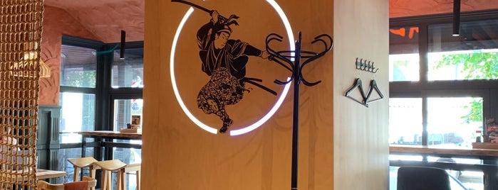 Menya Musashi is one of Tempat yang Disukai Dan.