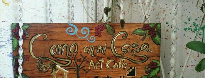 Cómo En Mi Casa (Art Cafe) is one of hさんの保存済みスポット.