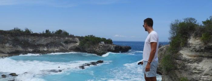 Blue Lagoon, Nusa Ceningan is one of Bali.