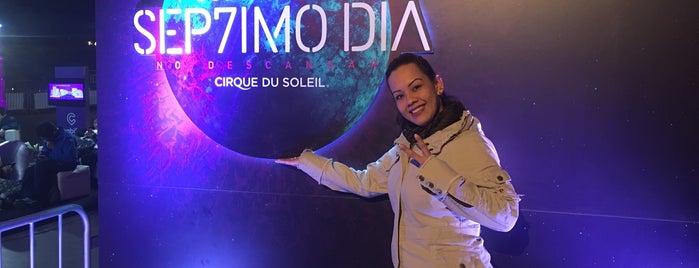 Cirque Du Soleil - Sep7imo Día is one of Tempat yang Disukai Sebastian.