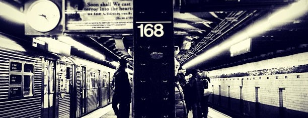 MTA Subway - 168th St (A/C/1) is one of I ❤️ NY.