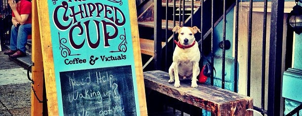The Chipped Cup is one of New York's Best Coffee Shops - Manhattan.