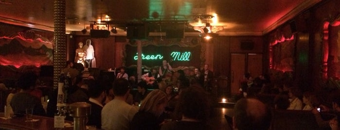 Green Mill Cocktail Lounge is one of Andrew 님이 좋아한 장소.
