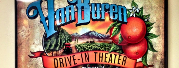 Van Buren Drive-In Theater is one of TAKE ME TO THE DRIVE-IN, BABY.
