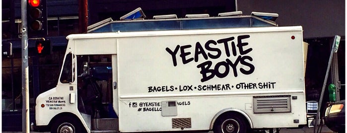 Yeastie Boys Bagels is one of LA.