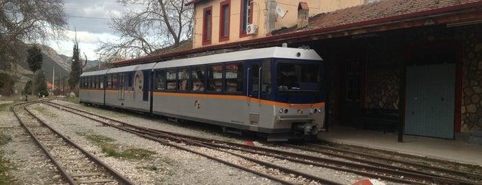Σιδηροδρομικός Σταθμός Καλαβρύτων is one of Besuchen non-D.