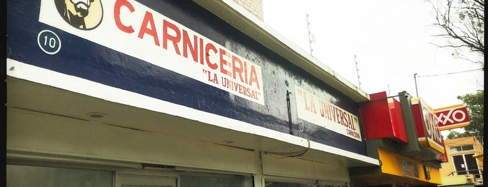Carnicería La Universal is one of JCarlos 님이 좋아한 장소.