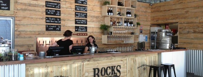 Rocks Brewing Co is one of Lugares favoritos de Matt.