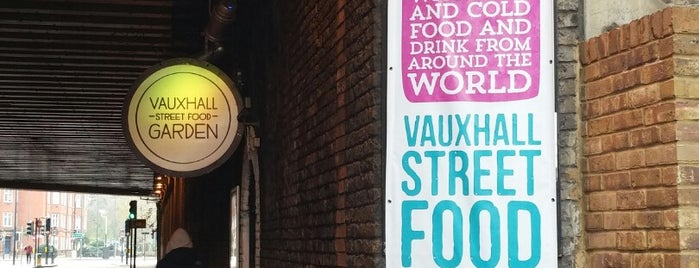 Vauxhall Street Food Garden is one of Posti che sono piaciuti a Kevin.