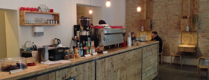 Silo Coffee is one of VeganBerlin.