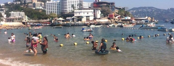 Playa Caletilla is one of Tempat yang Disukai Osiris.