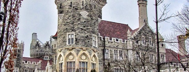 Casa Loma is one of Lieux sauvegardés par Sevgi.