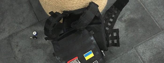 CrossFit Banda V Оболонь is one of Locais curtidos por Persona.
