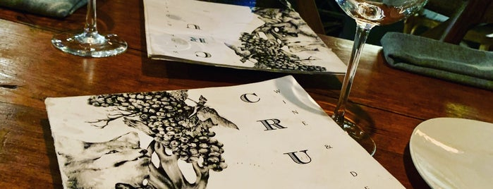 CRU Wine & Deli is one of Roberto J.C. 님이 저장한 장소.