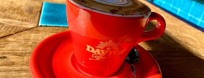DAVIDE COFFEE STOP is one of ぱらんの COFFEE SHOP LIST.