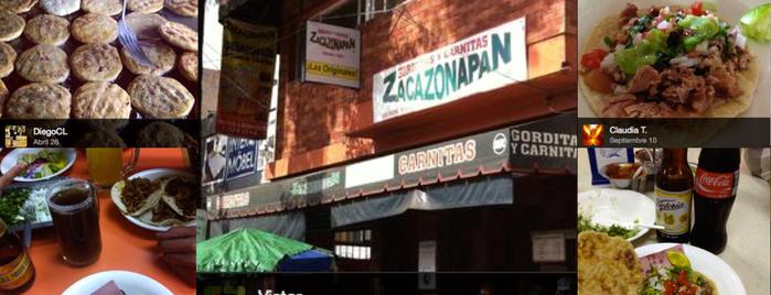 Gorditas y Carnitas Zacazonapan is one of Sur.