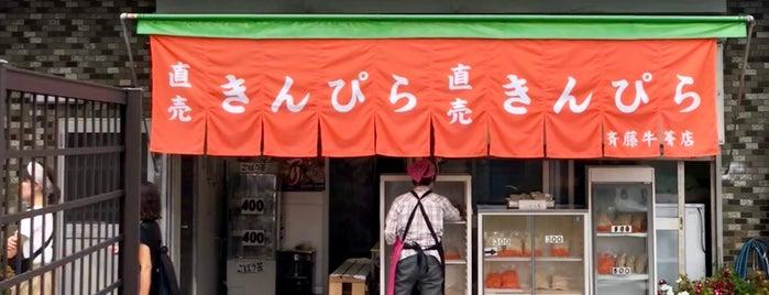 斉藤牛蒡店 is one of 自分が作成したVENUE.