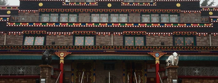 Kagyu Samye Ling is one of Scotland.