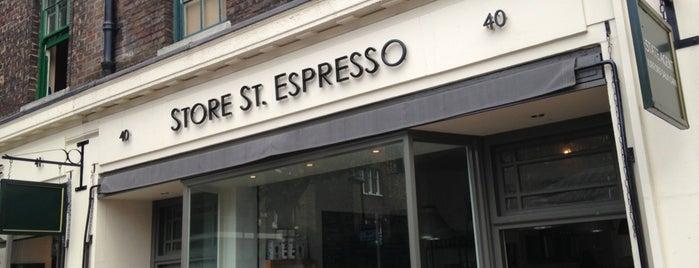 Store Street Espresso is one of Cafés.