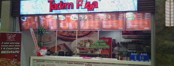 Tadım Pizza is one of Esra'nın Beğendiği Mekanlar.