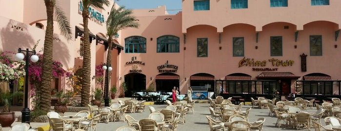 Le Pacha Resort Hurghada is one of Tempat yang Disukai Inna.