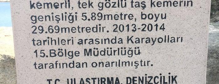 Kemere Köprüsü is one of Amasra.