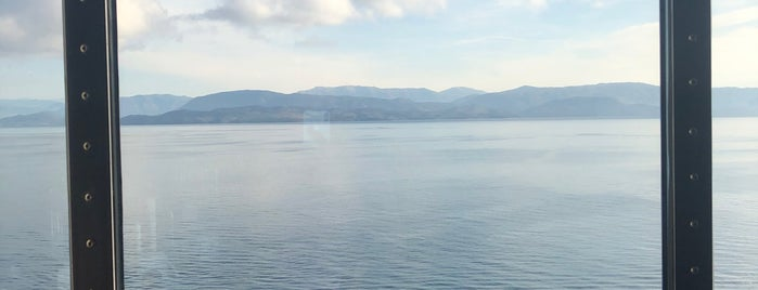 Corfu Port Terminal is one of Tempat yang Disukai Jayant.