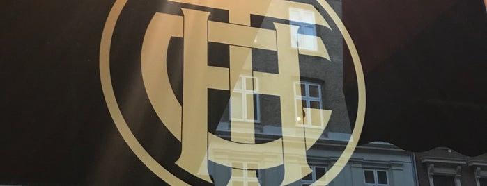 Det Franske Conditori is one of Paris in Copenhagen.