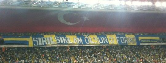 Ülker Stadyumu Fenerbahçe Şükrü Saracoğlu Spor Kompleksi is one of Istanbul - En Fazla Check-in Yapılan Yerler-.