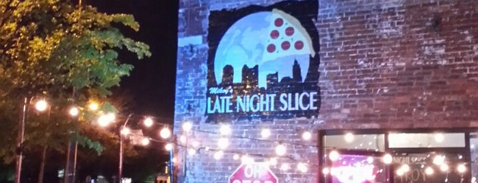 The Original Mikey's Late Night Slice is one of Columbus.