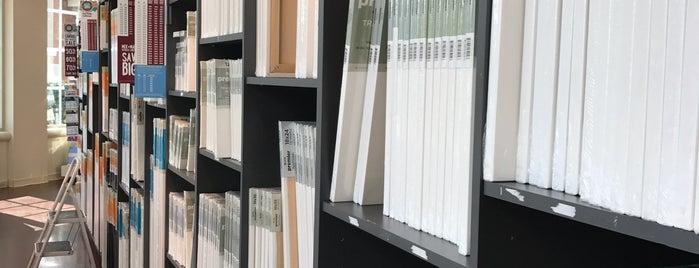 Blick Art Materials is one of สถานที่ที่ Heidi ถูกใจ.