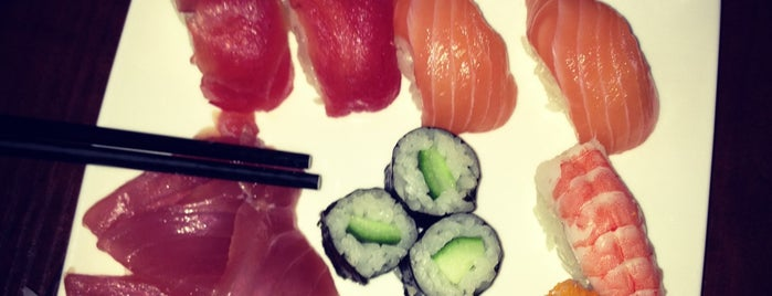 Shinzo Sushi Lounge & Grill is one of Tilburg.