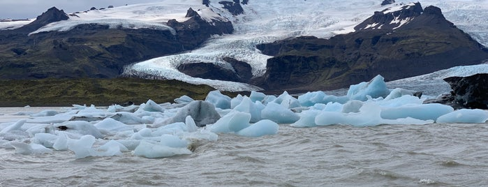 Fjallsárlón Iceberg Lagoon is one of Iceland.