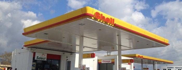 Shell is one of Lieux qui ont plu à Vangelis.